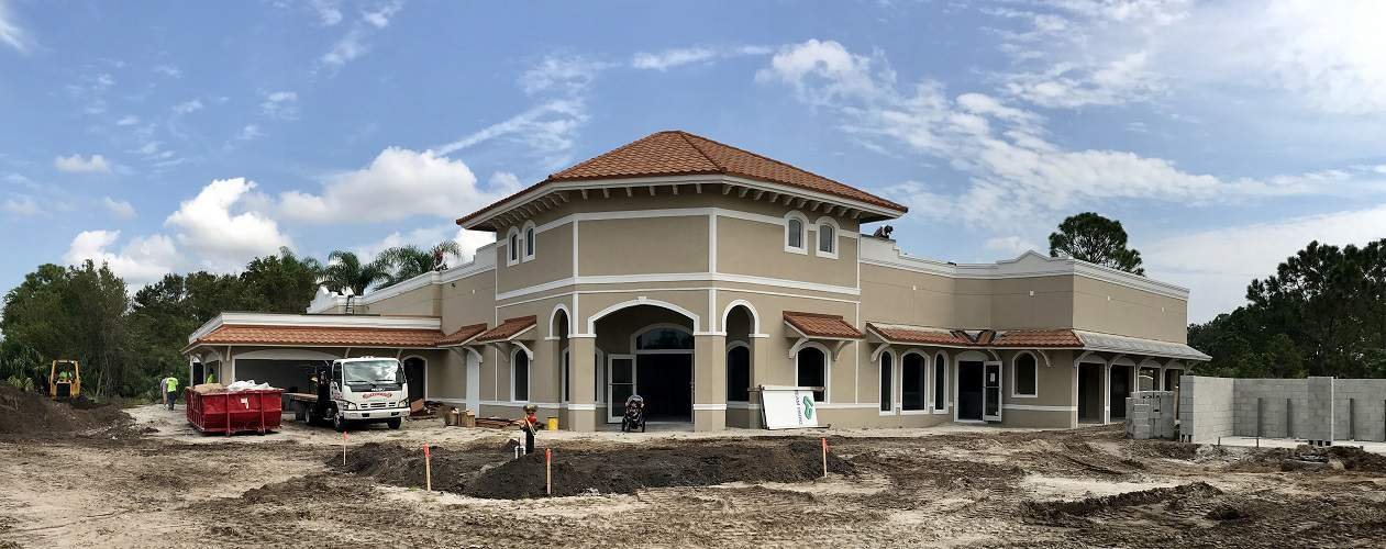 Exterior Is Finished And Flooring Is In!